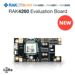 RAK4260 Placa de Evaluación
